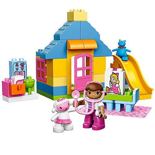 LEGO DUPLO Brand Disney 10606 Doc McStuffins Backyard Clinic Building Kit