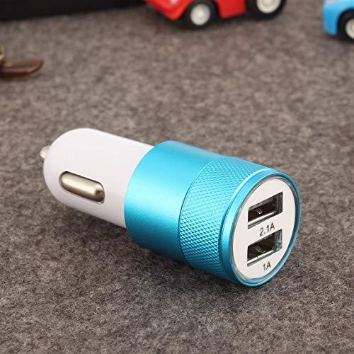 Momorain Mini 2 Puertos USB Cargador de Coche 2.1A Universal Dual Dual USB Cell Phone Adaptador de Carga de teléfono móvil para teléfono