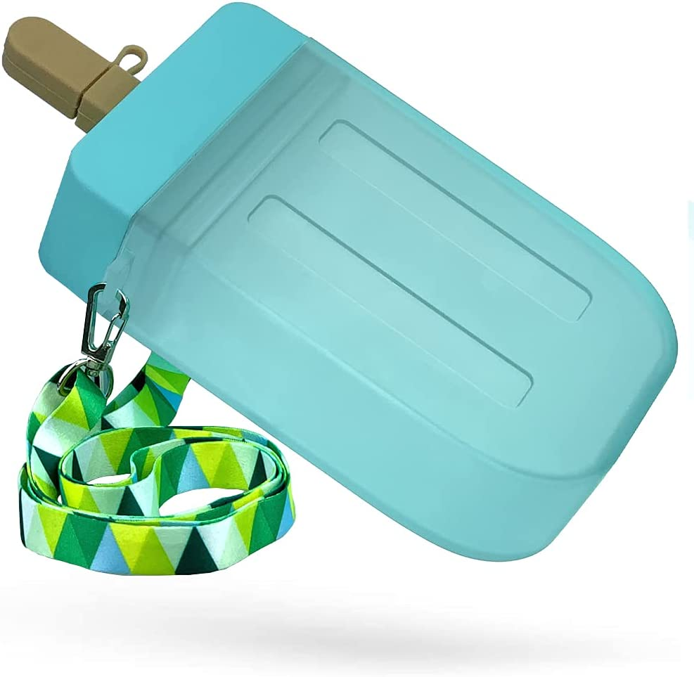 Popsicle Water Shipping included Bottles with Straw Max 60% OFF Cream Ice Bott Creative