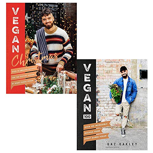 Gaz Oakley Collection 2 Books Set (Vegan Christmas, Vegan 100)