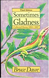 "Cover image of Bruce Dawe's ""Sometimes Gladness: Collected Poems, 1954-1987."""