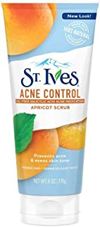 St. Ives Naturally Clear Apricot Scrub, Blemish Control 6 oz (Pack of 5)