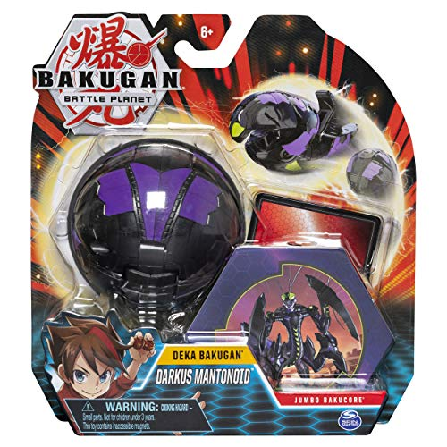 Bakugan Deka, Darkus Mantonoid, Jumbo Collectible Transforming Figure, for Ages 6 & Up