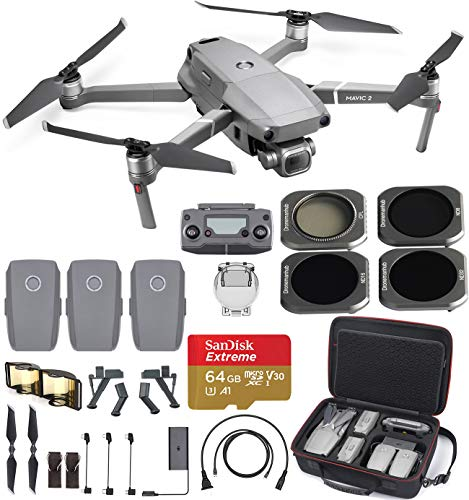 DJI Mavic 2 Pro with Hard Professional Case and ND Filters (3Batteries)