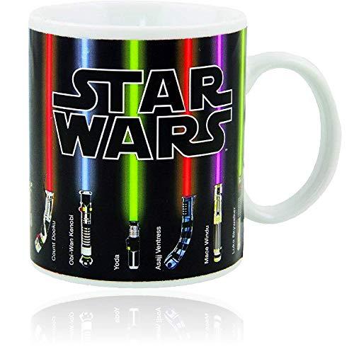 Star Wars Tasse Lichtschwerter erscheinen mit Hitze (313 ml)