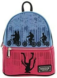 Stranger Things Upside Down Color-Block Mini Backpack 2019 Summer Convention Exclusive by Loungefly