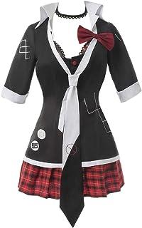 CR ROLECOS Danganronpa Junko Enoshima Cosplay Costume Junko Cosplay Outfit Uniform Dress