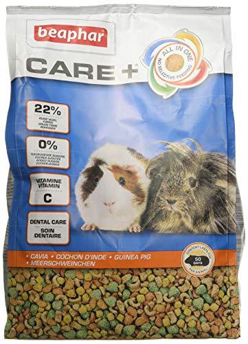 Care+ Cavia's met levensbelangrijke vitamine C | bevordert de gezonde tandslijtage | met Omega 3 en 6 | 1,5 kg