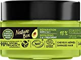 Nature Box - Soin Masque 2 en 1 Réparation Avocat - Cheveux abîmés - Formule Vegan - 98 % d'ingrédients d'origine naturelle - Contenant de 200 ml