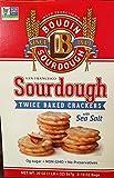 Boudin Sourdough San Francisco Twice Baked Crackers with Sea Salt - 20 oz Box