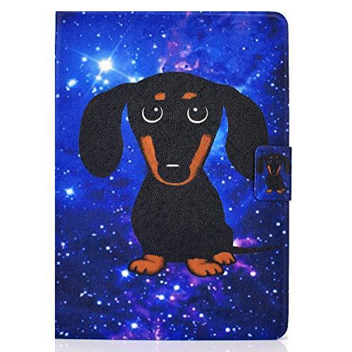 zl one - Carcasa para tablet Huawei Mediapad T3 10 de 9,6 pulgadas (piel sintética, protección de perro)