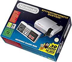MINI CLASSIC EDITION - NES classic edition is portable, easy to use and great for traveling, with different display modes to choose from. INCLUDES: The original look & feel of the Nintendo Classic Edition, redesigned miniature version, to smaller, sl...
