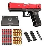 Glock & M1911 Shell Ejection Soft Bullet Toy Gun/Pistolet à Balle Molle - Pistolet Jouet Enfant avec Chargeur Et Silencieux Bullets