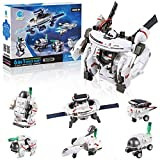 Ciro Space Solar Robot DIY Kit , Educational Learning Science Building Toys, Stem Projects for Kids Age 8+ Years Old Boys and Girls