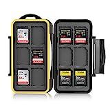 Ares Foto® MC-SD12 Speicherkarten Schutzbox • Memory Card Case • Card Safe • Tasche •...