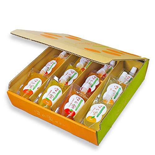 ほの果ゼリー パウチ入りゼリー 12個セット ギフト用 贈答用 送料無料 熊本県産のストレート果汁を使用
