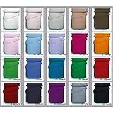 ABECE Funda nórdica Lisa Reversible Bicolor Mix&Match 50/50 Tacto Suave Antipeeling (Naranja-Manzana, Cama 105)
