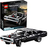 LEGO Technic Fast & Furious Dom's Dodge Charger 42111 Race Car Building Set, New 2020