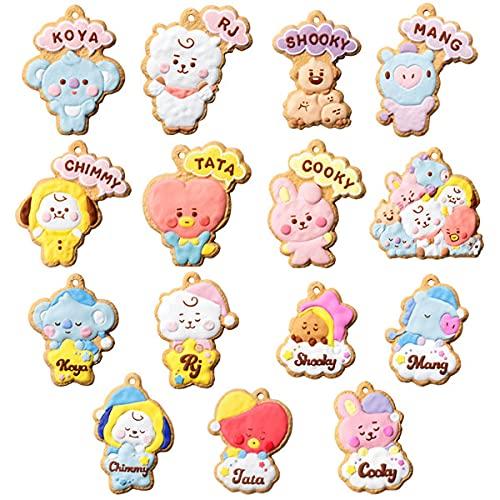 BT21 クッキーチャームコット 14個入りBOX (食玩)