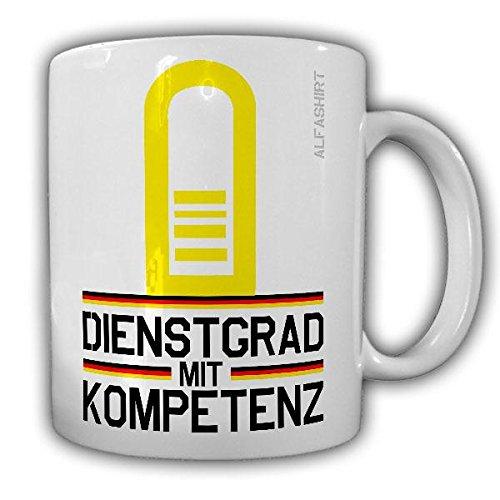 Tasse Fregattenkapitän Marine Dienstgrad Bundeswehr FKpt Militär Rangabzeichen Abzeichen Schulterklappe Kaffee Becher #20729