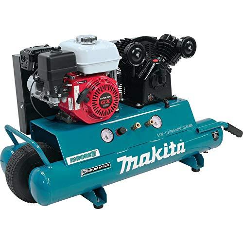 Makita MAC5501GR 5.5 HP 10 Gallon Oil-Lube Gas Air Compressor (Renewed)