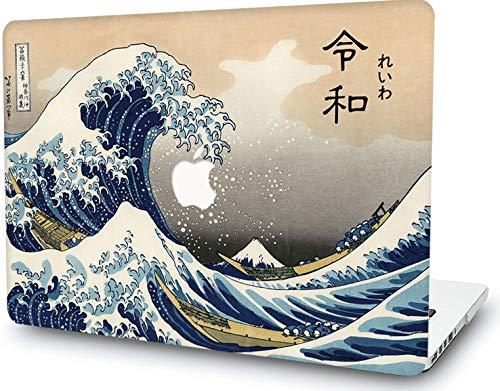 RQTX Custodia Rigida per Laptop MacBook PRO 13 Pollici Custodia A1278 (Versione 2008-2012) Oggetto con Copertina Rigida - Vedi Wave