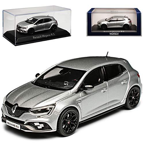 Norev Renault Megane RS IV Silber 5 Türer Ab 2017 4. Generation Ab 2015 1/43 Modell Auto