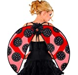 Amscan 841043 Black and Red Ladybug Wings, 1 Piece