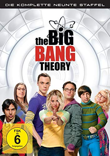 Cover The Big Bang Theory - Die komplette neunte Staffel [3 DVDs]