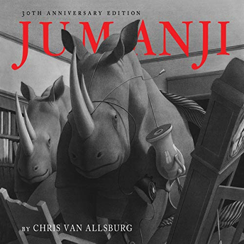 Jumanji audiobook cover art