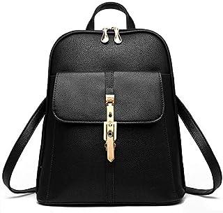 Fashion Women Backpack School Shoulder Bag travel Bag, Black