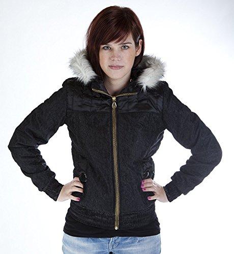Adidas Originals dames winterjas winter buffer Respect ME, zwart, P51100