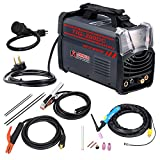 Amico TIG-200DC, 200-Amp TIG-Torch Stick Arc DC 2-in-1 Combo Welder, 115V & 230V IGBT Welding Machine