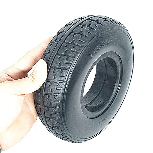 XXLYY Electric Scooter Tires, 9 inch 2.80/2.50-4 Replacement Wheels, Including Wear-Resistant Tires, Steel Wheels, Trolley Optional Accessories,Pneumatic Tire