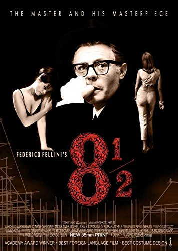 Federico Fellini's 8 1/2 POSTER Movie (27 x 40 Inches - 69cm x 102cm) (1963)