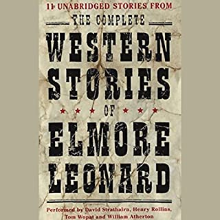 The Complete Western Stories of Elmore Leonard cover art