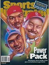 Ken Griffey Jr Mark McGwire & Sammy Sosa March 6 2000 Sports Illustrated Magazine