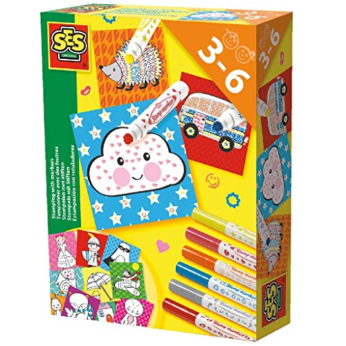 SES Creative 14896 Stamping with Markers