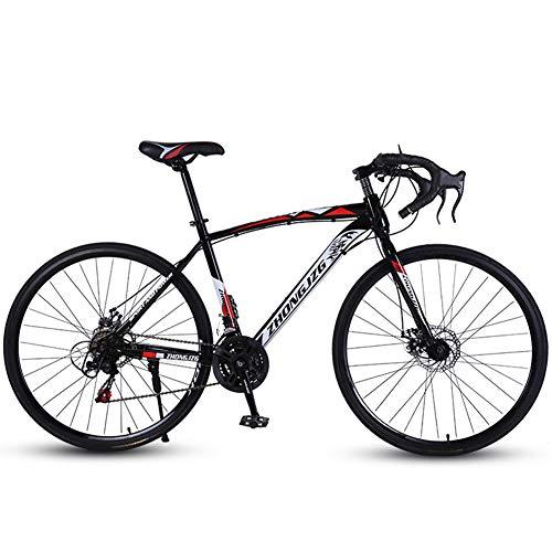 Vélos De Route, Vélos À Cadre en Acier Léger À Haute Teneur en Carbone pour Adultes, Vélos...