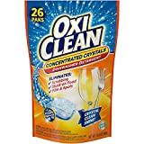 Best Bosch Dishwasher Soaps - OxiClean Dishwasher Detergent, Lemon Clean, 26 Count Review