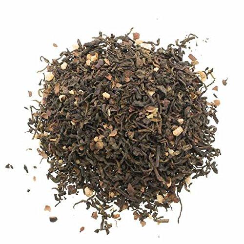 Aromas de Té - Té Rojo Pu Erh Crujiente de Chocolate con Cáscara de Cacao Pedazos de Crocante Vainilla, 50 gr