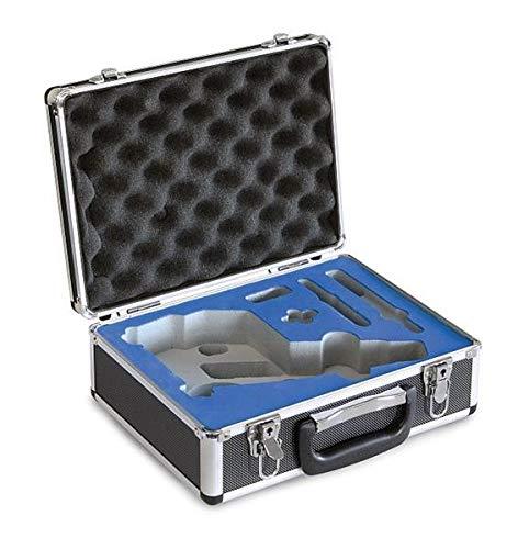 Aluminium koffer voor kern mokroscoop, afmetingen: 310 x 120 x 240 mm, gewicht: 1300 g