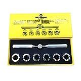 Gobesty Kit de Reparación de Relojes, 7 Pcs Kit Herramientas relojero Herramientas de Reparación Profesionales para Reloj Watch Back Case Cover Opener Cambiar Pila de Reloj Ideal para Rolex Tudor