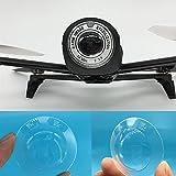 Bescita - Protection d'objectif transparente Anti-poussière pour caméra drone Parrot Bebop 2, blanc