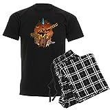 CafePress Guardians of The Galaxy Rocket Unisex Novelty Cotton Pajama Set, Comfortable PJ Sleepwear