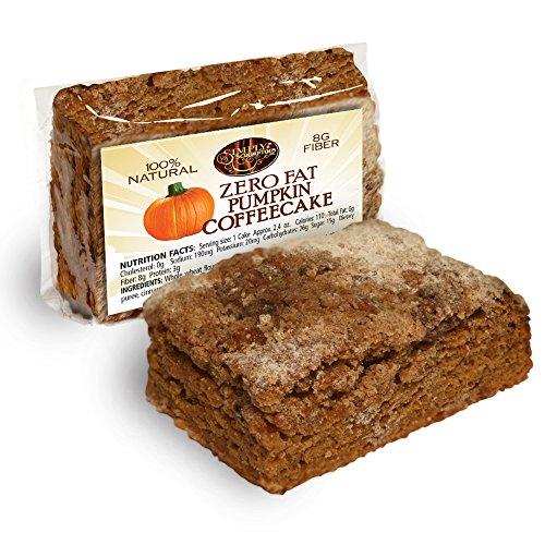Simply Scrumptous Fat Free Pumpkin Coffee Cakes
