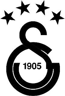 GALATASARAY Aufkleber Auto Sticker Autosticker Autoaufkleber Istanbul Gala Ultraslan (Schwarz)