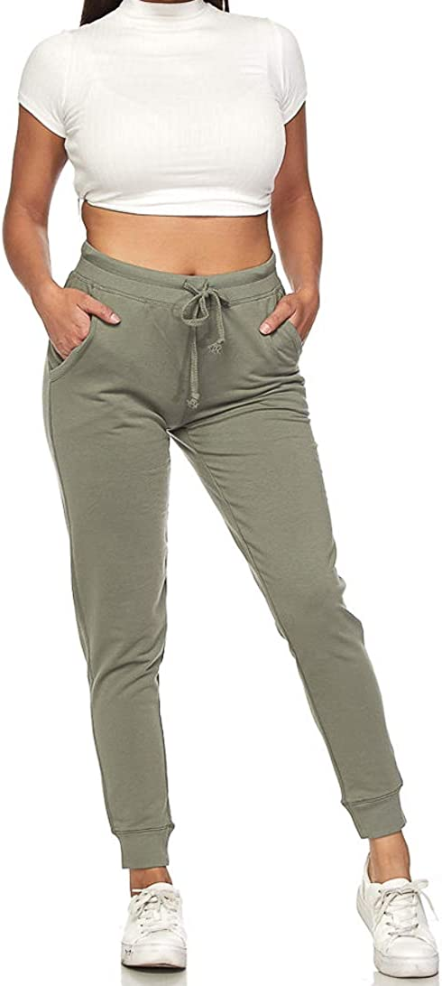 Ambiance Inventory cleanup selling sale Women's Superior Juniors Jogger Soft Pants