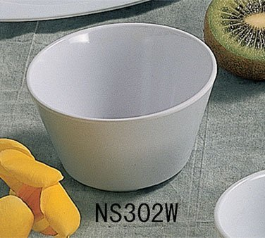 Thunder Group NS302W 3-7/8-Inch 12-Pack Bouillon Cup, 8-Ounce, White