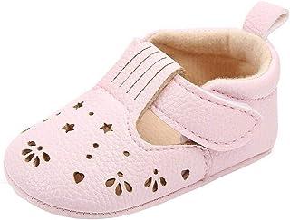 7261a67c55633d Jimmackey- Scarpe Bambina in Cotone Scarpine Neonato Scarpine in Pelle  Prima Infanzia Scarpe Baby Scarpe